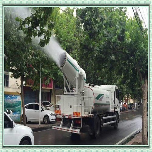 安徽铜陵锦辉环保车载式铁路除尘雾炮机