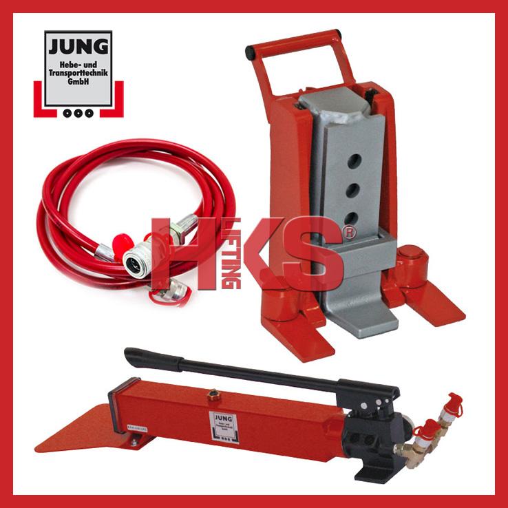 jh30gplusex分离式爪式千斤顶、原装德国jung千斤顶