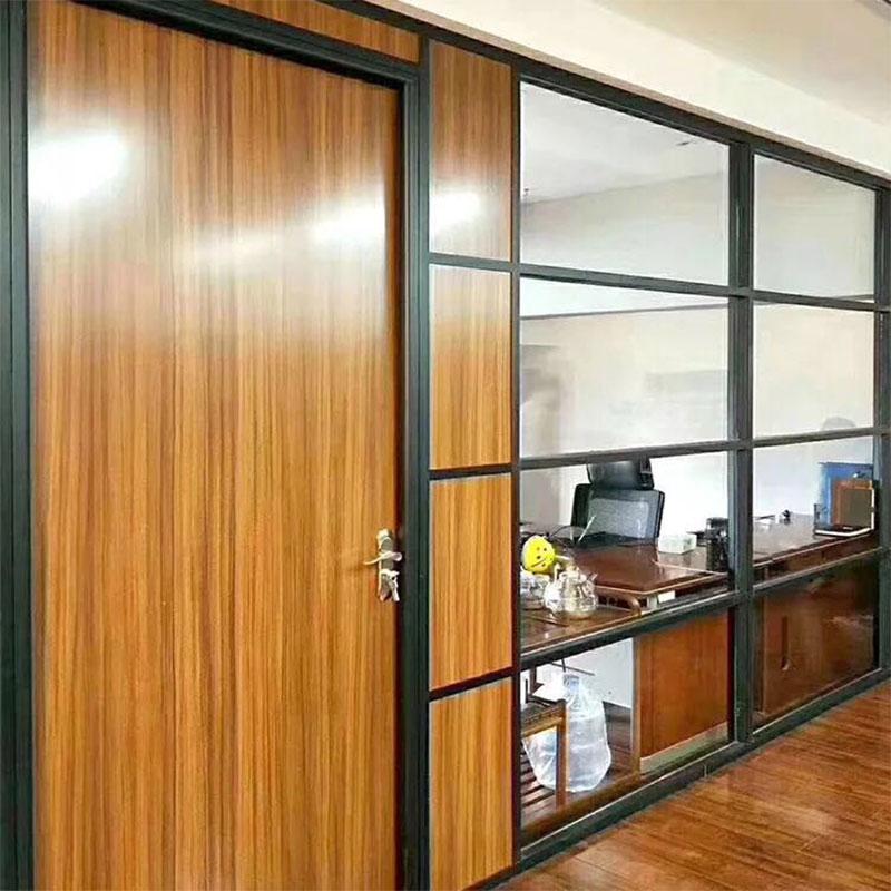 茂名玻璃隔斷安裝寫字樓醫院用玻璃隔斷墻高隔間