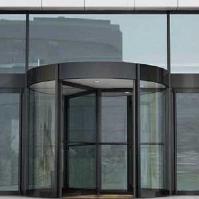 无锡旋转门宽敞又格调高堪称建筑物的点睛之笔