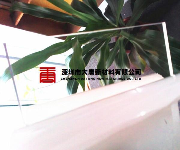 深圳透明pc耐力板美國進口原料生產