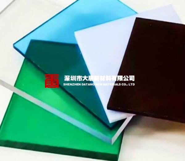 汕头订做进口透明pc板耐力板片材