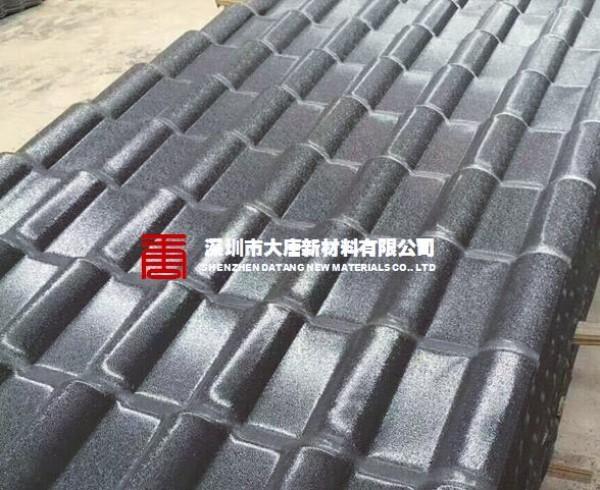 深圳西乡订做批发灰色asa树脂瓦电话