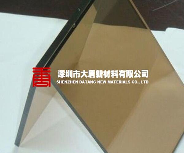 东莞市订做茶色耐力板阳光板厂家