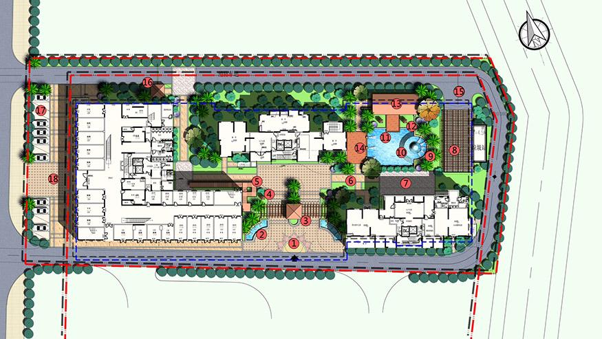 商务大厦景观方案设计