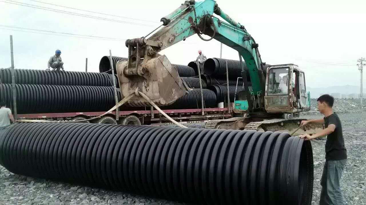 江西上饶hdpe增强缠绕管厂家