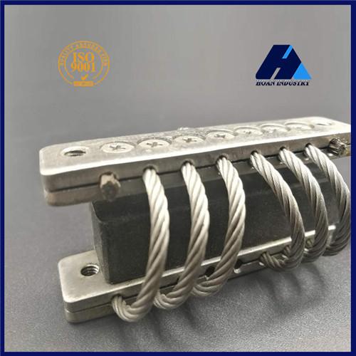 机载电子设备隔振缓冲gx-10an1钢丝绳隔振器