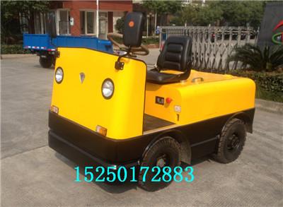 唐山小吨位电动牵引车、厂家提供各种规格的电瓶拖车头