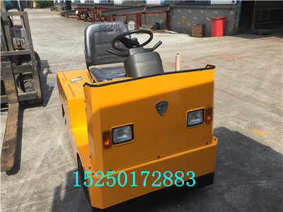 天津20t電動牽引車定制、重工企業電動轉運車、電瓶拖車頭
