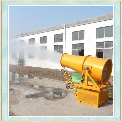 河南开封制品厂除尘喷雾机操作流程