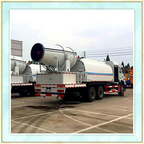 河北张家口锦辉环保车载式隧道喷雾机做法