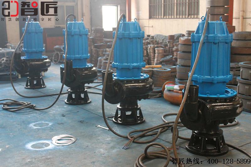 天津智匠泵业河道清淤潜水泵描述