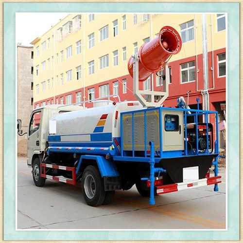 河北沧州环保车载式环保除尘喷雾机施工案例