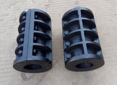 泊头联轴器厂供应jq型夹壳联轴器