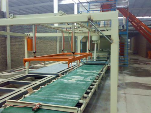 集装箱房地板生产线、集成房地板机械