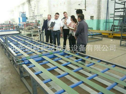 复合排烟气道生产线、排烟气道设备