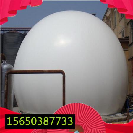 沼气储存装置沼气双膜气柜白色软体气柜