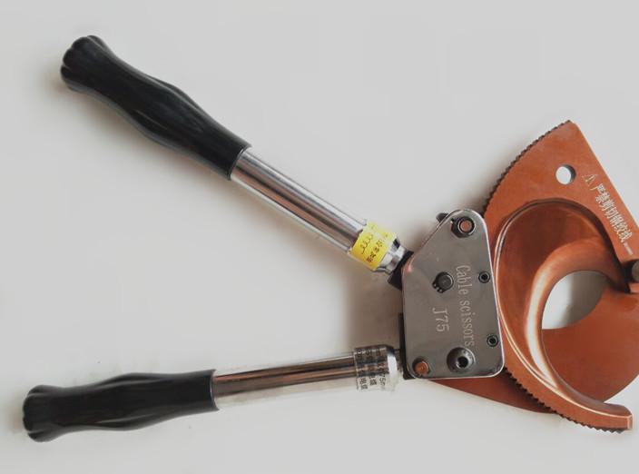 优质长信j25棘轮电缆剪刀钢绞线断线钳钢芯铝绞线断线剪刀
