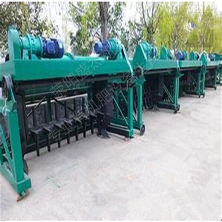 安徽新品有机肥发酵设备型号多操作简单