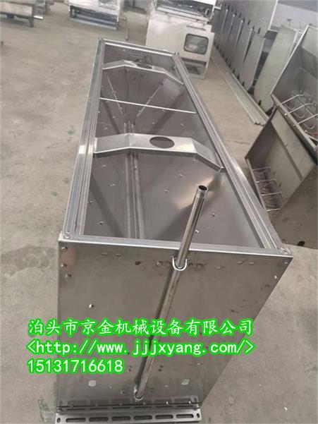 江西豬用不銹鋼料槽從繁如簡