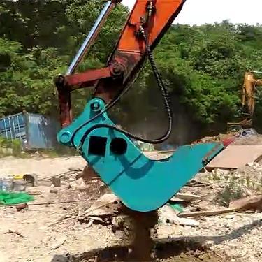挖机用高频振动筛筛分斗zs-12厂家直销