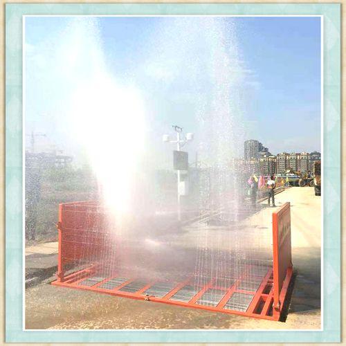 日喀则地区工地手动式洗车台高效节能效果