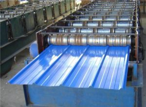 宝钢一级彩钢板支持覆膜分条开平压瓦规格齐全
