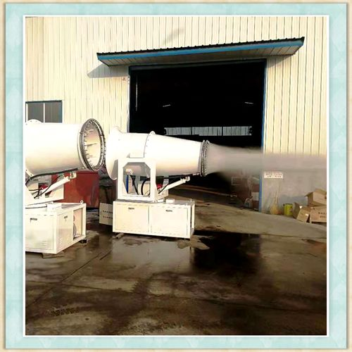 河源市工地除尘降尘喷雾机高效节能效果