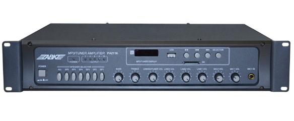 供应abk欧比克pa2106分区的广播功放
