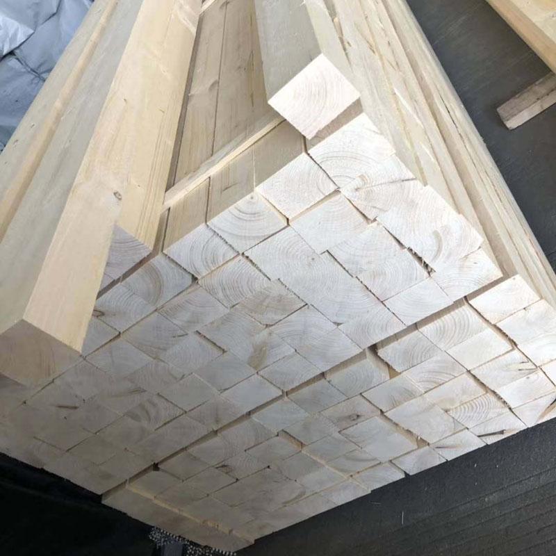 沪兴木业铁杉建筑木方防腐木材铁杉实木板材
