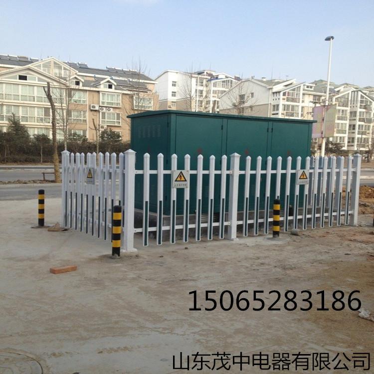 塑钢pvc箱变护栏配电室围栏变压器围栏厂家