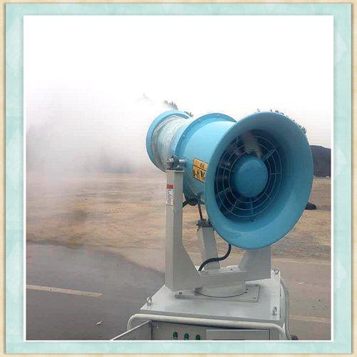 乌兰察布市工地除尘降尘雾炮机支持定制