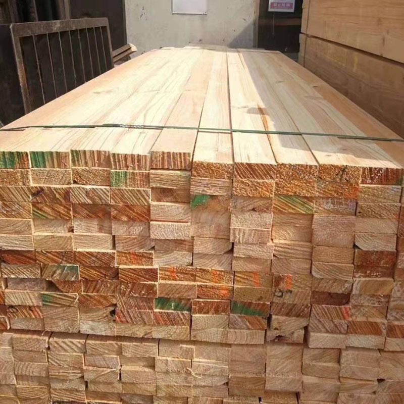 沪兴木业建筑木材建筑用木方批发工地工程木方
