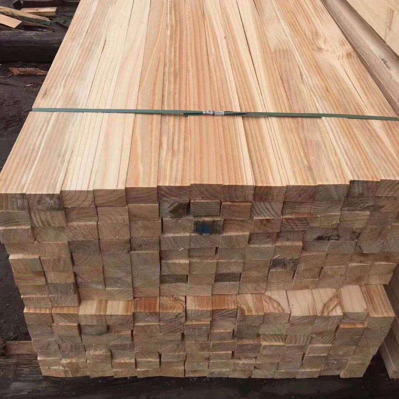 沪兴木业建筑木方模板木方规格辐射松木方加工