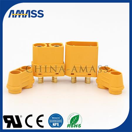 艾迈斯专利大电流电力连接器xt90h、大电流接线端子
