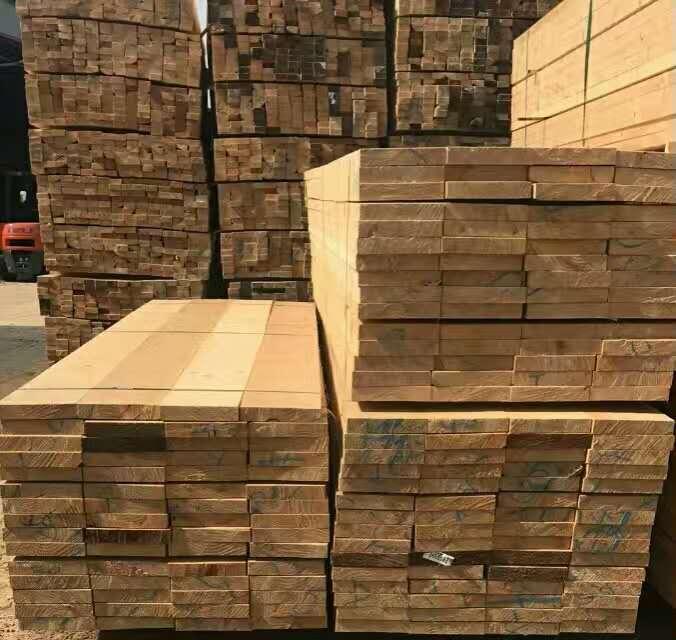 莱芜云杉工地木方规格