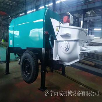 隧道湿喷机拖式湿喷机车载混凝土喷湿机