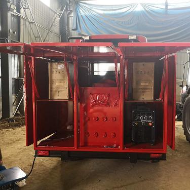 通汇供应东方红拖拉机发电机组户外野外施工必备移动电站