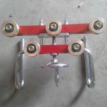 五轮校直器接触线五轮校直器接触线校直机铜轮校直器