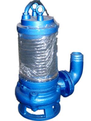 鲁达切割搅吸耐磨排污泵-jdwq潜水撕裂切割污水泵