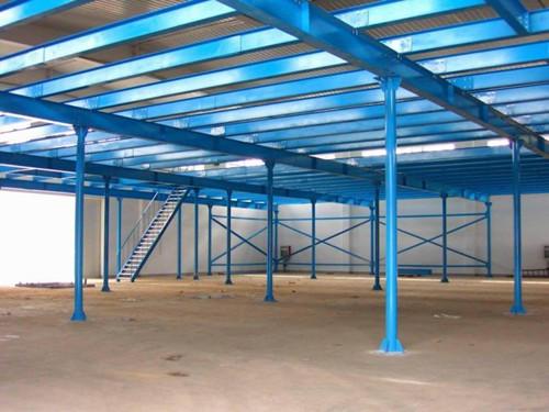 钢平台钢平台货架钢结构平台南京钢平台
