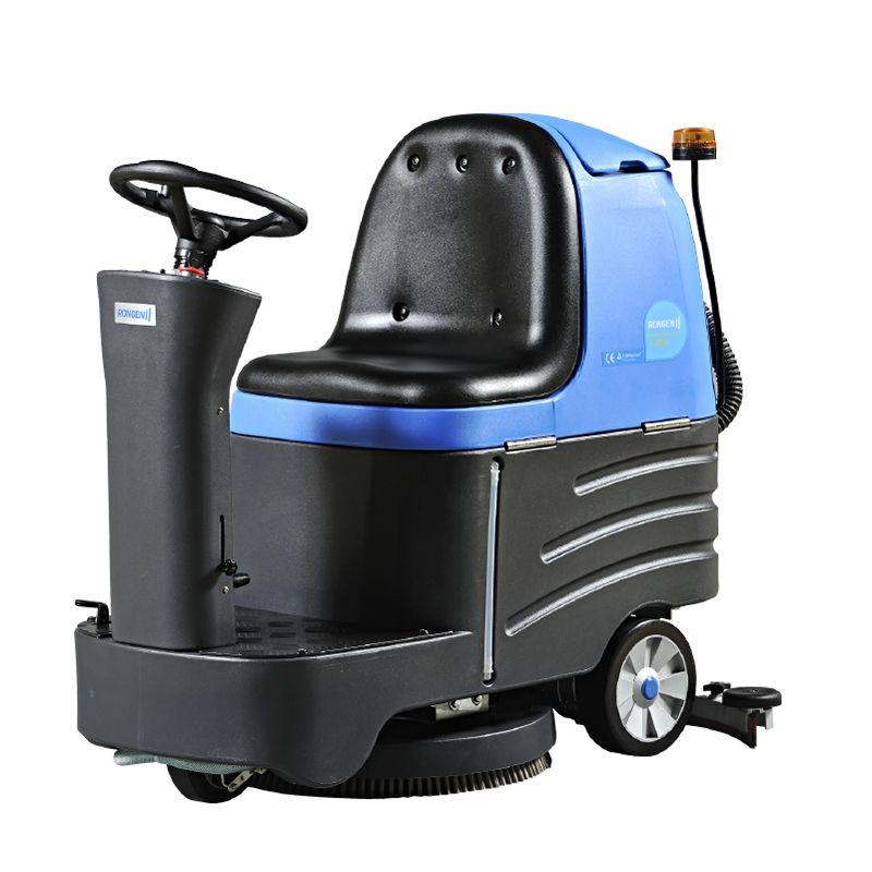 容恩r-xben驾驶洗地机工厂物业电瓶洗地机