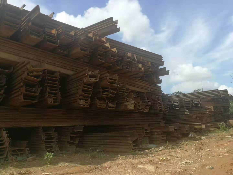 深圳市拉森钢板出租-专业租赁6米9米12米钢板桩