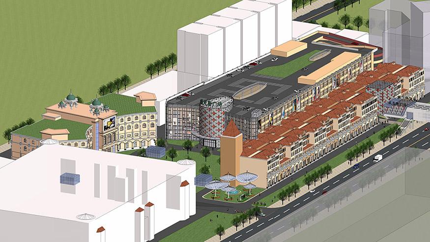 商业广场改造规划设计
