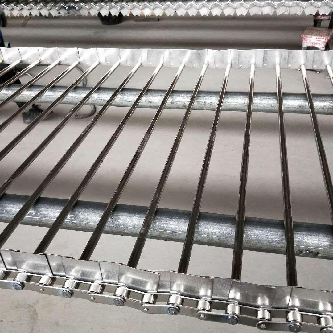 不锈钢链杆式网带生产厂家、清洗机链片式网带