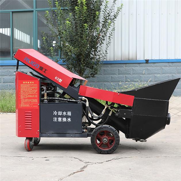 儒工55kw混凝土输送泵二次构造柱泵混凝土泵