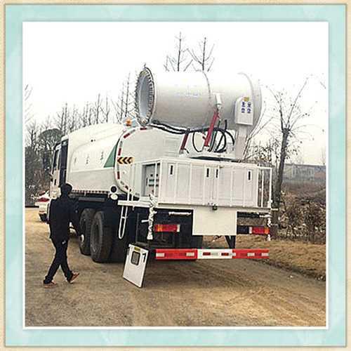 玉溪市煤矿专用车载雾炮机生产工艺