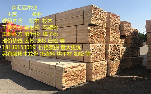 鹤壁木方尺寸工地木方