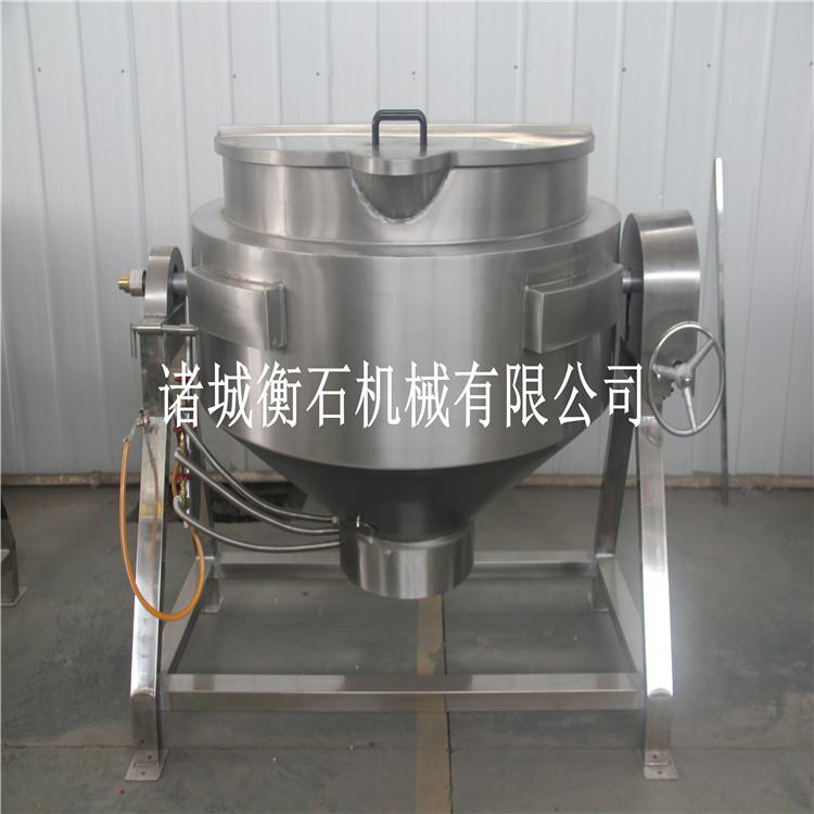 300l大型食堂用炒锅-蒸汽夹层锅-衡石熬汤节能夹层锅
