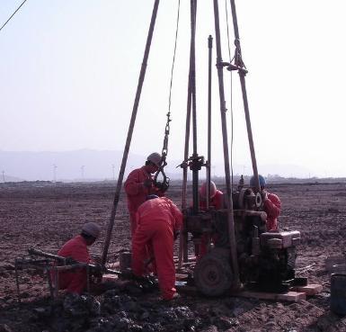 西��地�|勘查公司和青海勘探�